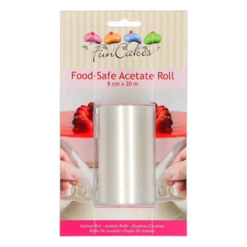 Acétate alimentaire - Rouleau Rhodoïd 8cm - food safe acetate roll 8cm                                ;4;3.11