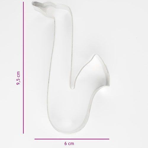 Biscuits Emporte-pièce Saxophone 9,5 cm
