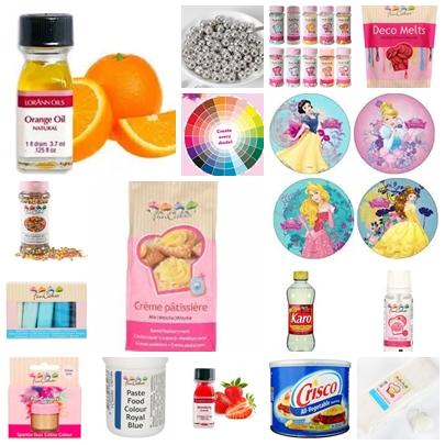 Pâte à sucre - ingrédients - préparations comestibles - colorantes - arômes