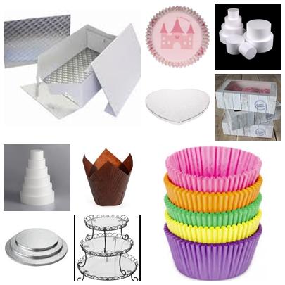Présentation et transport - sachets - planches - boites - présentoirs - caissettes à cupcakes etc