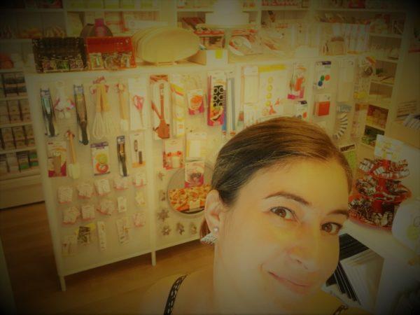 moi dans boutique
