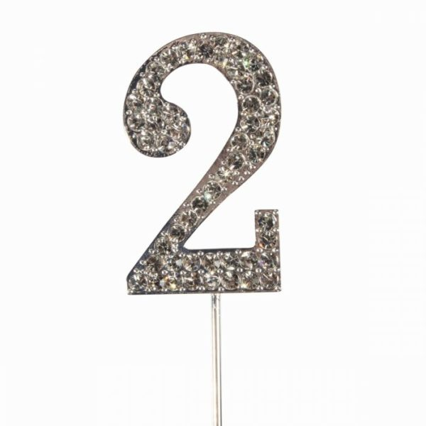 Cake topper en diamant numero 2 - Cake Star Cake Topper Diamante Number 2