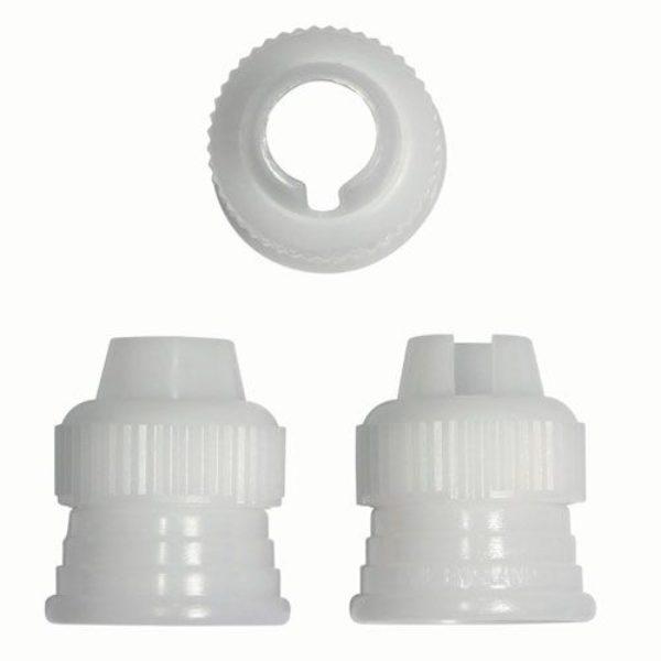 Adaptateurs pour poches à douilles set de 3 - PME Icing Bag Adaptors Set/3