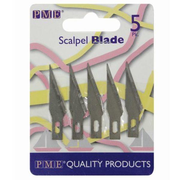Lame de scalpel set de 5 - Spare Blades for PME Craft Knife-Scalpel Pk/5