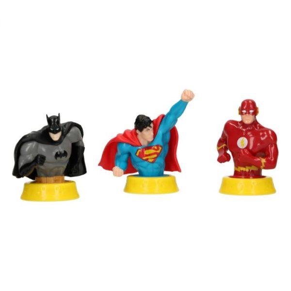 Figurines super-héros Batman, Superman et Flash - Justice League
