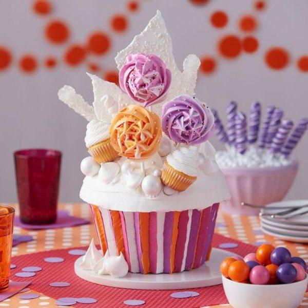 Wilton jumbo moule à cupcake 3D - NON-STICK GIANT CUPCAKE PAN