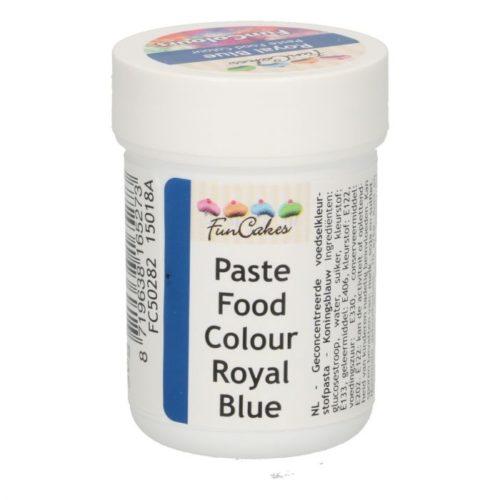 FunColours-Pâte colorante alimentaire - Paste Food Colour - Royal Blue- 30g- Bleu Royal