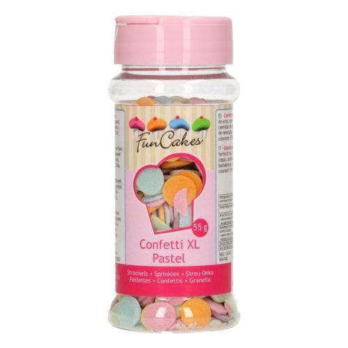 PROMO!!!confettis xl couleurs pastel