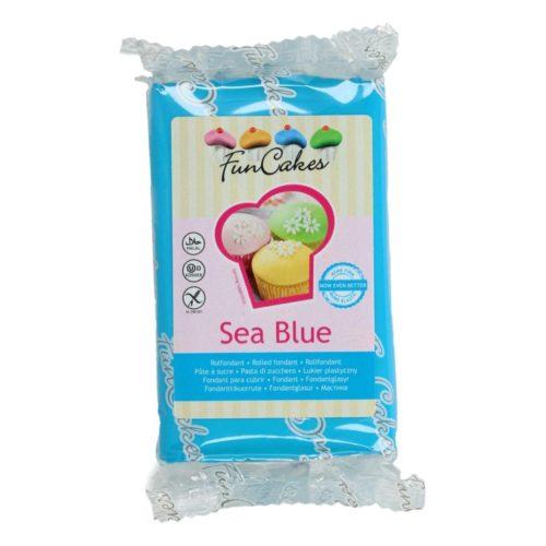 PROMO!!!FunCakes Fondant -Sea Blue- -250g-