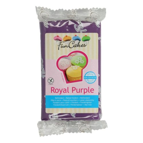 PROMO!!!FunCakes Fondant -Royal Purple- -250g-
