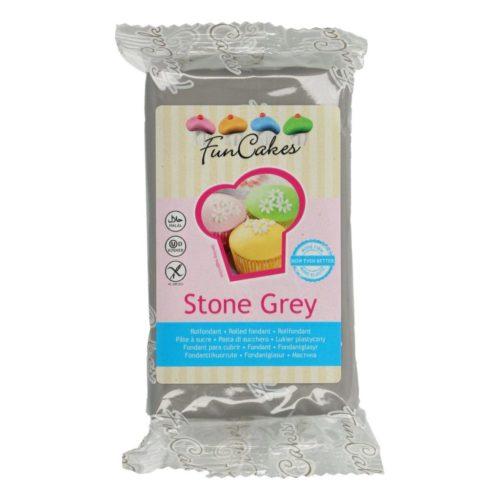 PROMO!!!FunCakes Fondant -Stone Grey- -250g -