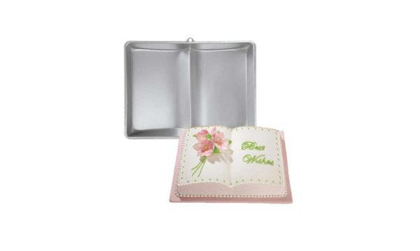 Wilton Two-Mix Bookpan - Moule à gâteaux livre ouvert