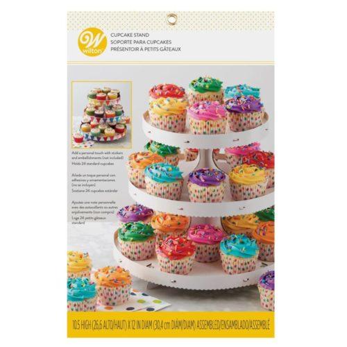 Wilton Cupcake Stand 3-Tier - présentoir à cupcakes à trois étages