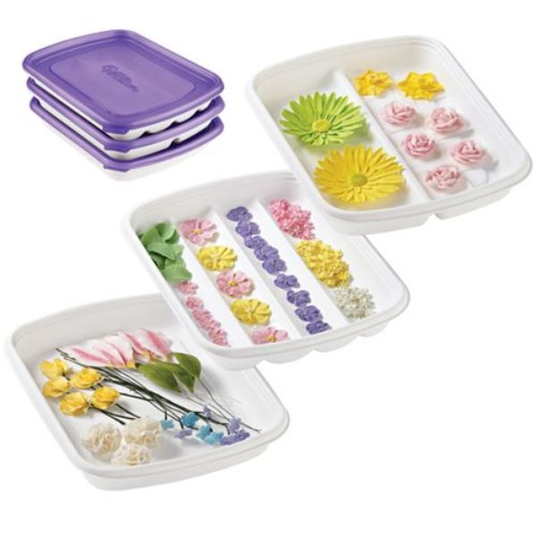 Wilton Set de Rangement Fleur - Form-N-Save