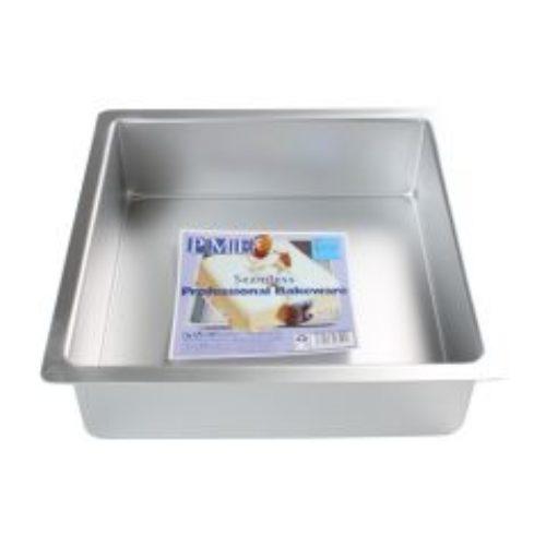 Moule à gâteau carré 20*20*7.5cmH - PME DEEP SQUARE PAN 20*20 X 7,5 CM