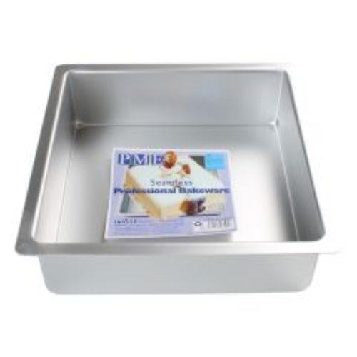 Moule à gâteau carrée 25*25*7.5cm H - PME DEEP SQUARE PAN 25 X 25 X 7,5 CM