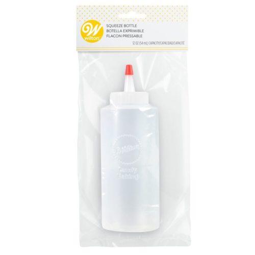 Wilton Regular Melting Bottle Flacon pressable pour déco melt/chocolat /caramel/coulis