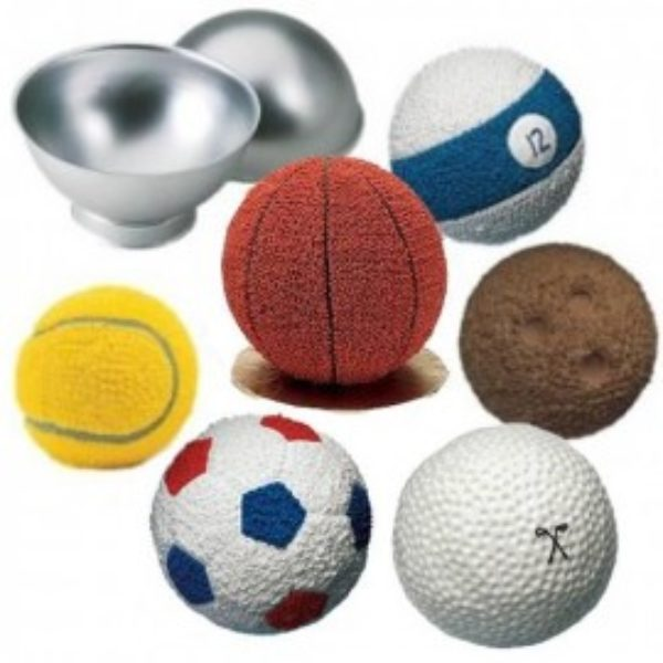 Wilton Sports Ball Pan Set    - Moule ballon 3d