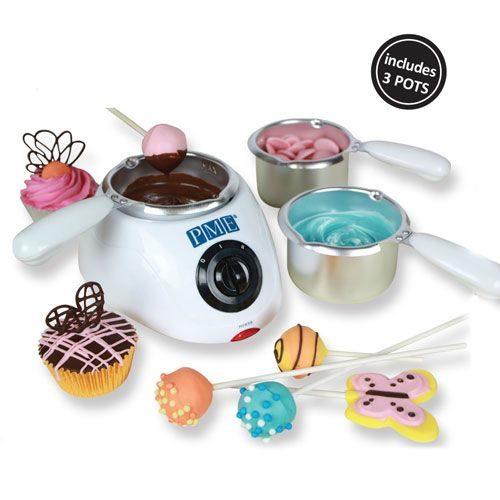 Bain marie électrique pour fondre le chocolat ou les candy melts - PME CHOCOLATE MELTING POT