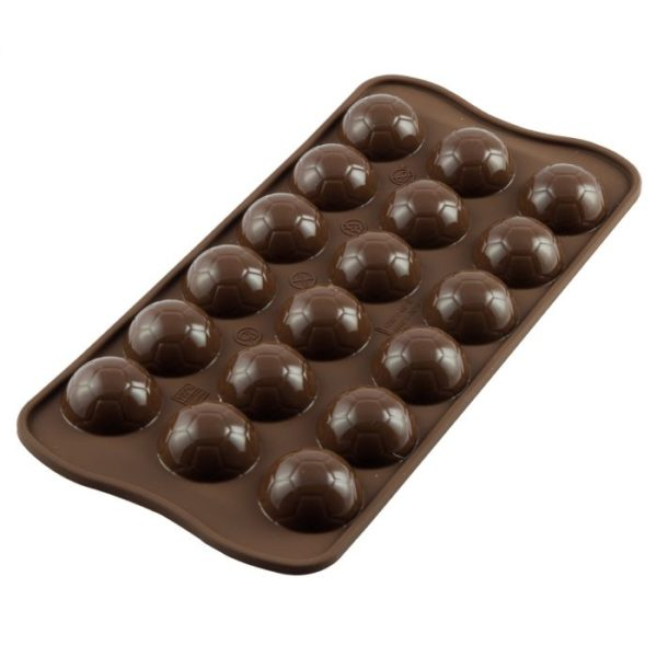 Moule en silicone en forme de ballon de football - silicone chocolate mould