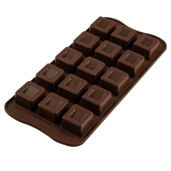 Moule à Chocolat en forme de Cube
