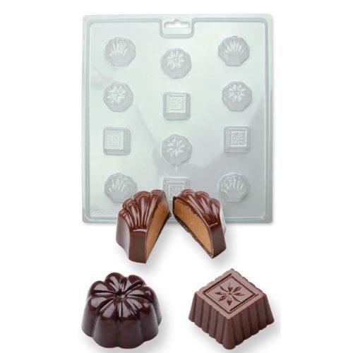 Moule pour chocolat en formes classiques