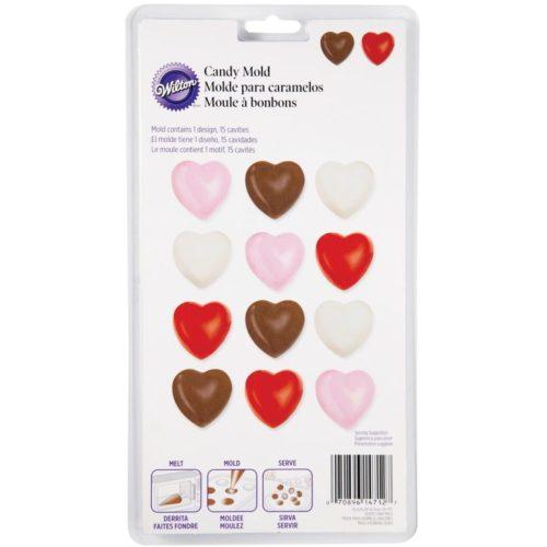 Moule à chocolat / bonbons en forme de cœur - Candy mold hearts