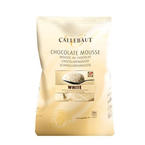 Callebaut Chocolate Mousse -White- 800g