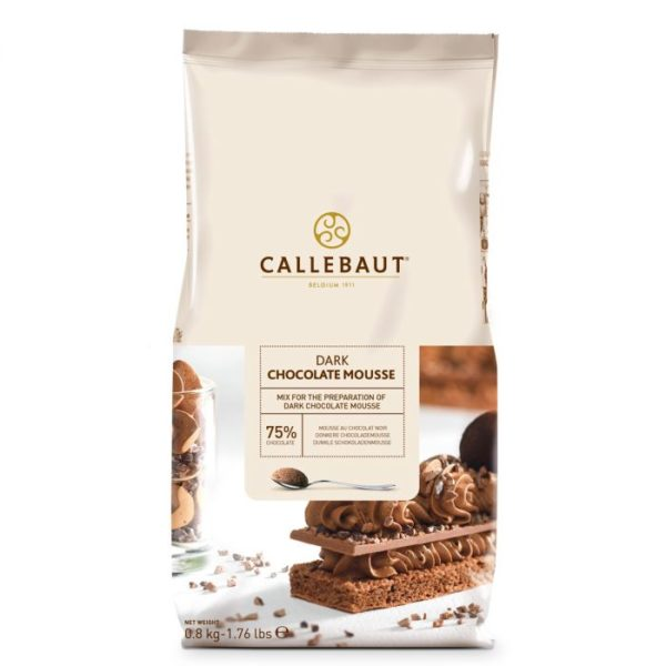 Callebaut Chocolate Mousse -Dark- 800g
