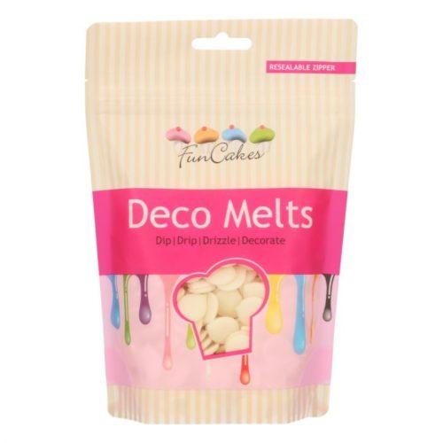 FunCakes Deco Melts -Blanc- 250g