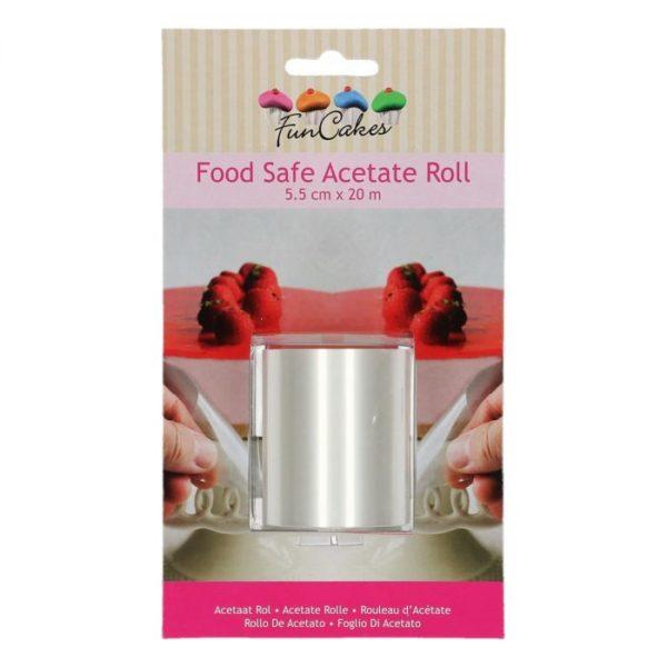 Acétate alimentaire - Rouleau Rhodoïd 5.5cm - food safe acetate roll 5.5cm                                ;4;3.11