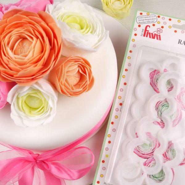 Emporte pièce - fleur de renoncule - FMM Cutter The Easiest Ranunculus Ever
