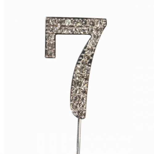Cake topper en diamant numero 7 - Cake Star Cake Topper Diamante Number 7