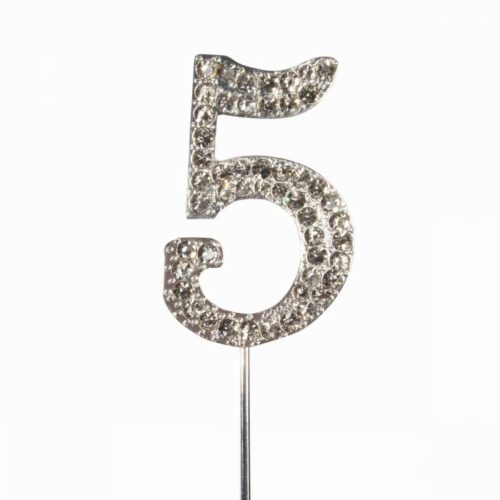 Cake topper en diamant numero 5 - Cake Star Cake Topper Diamante Number 5